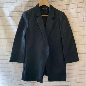 Elizabeth & James Midnight Blue blazer Size 8